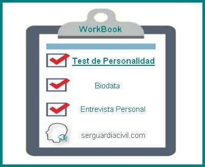 WorkBooks Test de Personalidad Ser Guardia Civil
